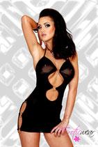 schwarzes Kleid EW-0037