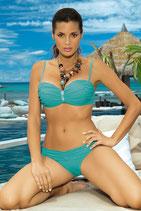Bandeau Bikini M122 türkis von MARKO