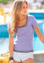 T-Shirt lila von Chillytime
