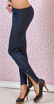 Leggings Jeans Look Zipper