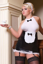 Dienstmädchen Luxe Waitress von Andalea Dessous