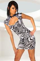 Kleid Lounge B Zebra