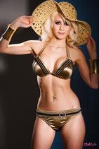 gold-beiges Bikinihöschen 33110 von Sanselle