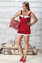 Weihnachtskleid Caramella mit Rückenschnürung
