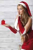 Weihnachtskleid Snow White von Andalea Dessous
