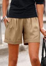 weite Shorts graucamel von CHILLYTIME