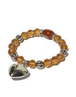 Armband, braun von Madame Butterfly