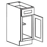 1 Door 1 Drawer Base Cabinet