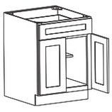 2 Door 2 Drawer Base Cabinet