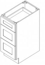Three Drawer Base