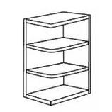 "12"" Base End Shelf"