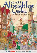 Altstadtfest Plakat 2011