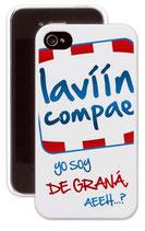 Carcasa de móvil 'yo soy de Graná'
