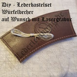 DiY - Bastelset Würfelbecher