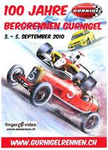 Bergrennen am Gurnigel 2010 Spezialangebot 100 Jahre 3 DVD's!