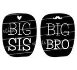 Geschwister Kollektion | Langarmshirt | Herz & Bart