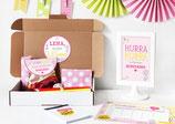 Einschulungsbox | Notizblock in Pink