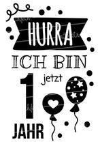 Geburtstag Langarmshirt | Hurra