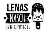 """Turnbeutel """"Mein Naschbeutel"""" Eis & Namen"""