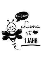 Geburtstagsshirt mit Namen | Biene