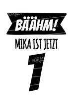 Geburtstagsshirt mit Namen | Bäähm!