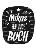 Freundebuch Tasche mit Namen | Stern