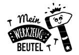 """Turnbeutel """"Mein Werkzeugbeutel"""" Hammer"""