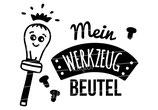 """Turnbeutel """"Mein Werkzeugbeutel"""" Schraubenzieher"""