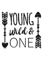 Geburtstag Langarmshirt | young wild & one