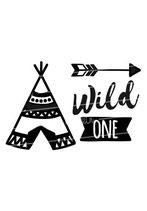 Geburtstag Langarmshirt | wild one tipi