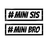 Geschwister Kollektion | Langarmshirt Mini