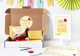 Einschulungsbox | Buchstabensalat in Gelb