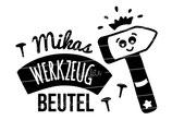 """Turnbeutel """"Mein Werkzeugbeutel"""" Hammer & Namen"""