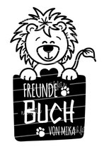Freundebuch Tasche mit Namen | Löwe