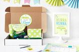 Einschulungsbox | Notizblock in Grün