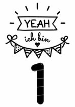 Geburtstag Langarmshirt | Yeah