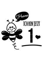 Babyshirt | Biene 1 Jahr