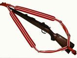 Rucksackgewehrriemen mit Neopren gepolstert (ORANGE)