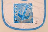 Lätzchen mit Motiv Anker Blau