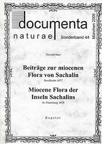 Documenta naturae, Sonderband 44