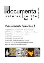 Documenta naturae, Band 164-1