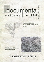 Documenta naturae, Band 188