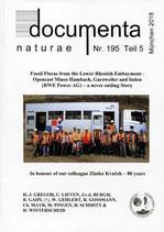 Documenta naturae, Band 195, Teil 5