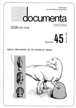 Documenta naturae, Band 45