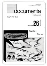 Documenta naturae, Band 26