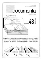 Documenta naturae, Band 43