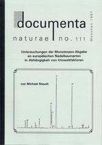 Documenta naturae, Band 111