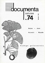 Documenta naturae, Band 74