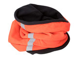 TUBESCHAL Fleece Reflective - bright-orange/carbon