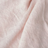 Bettlaken in hellem Rosa aus Gewaschenem Voll-Leinen (mit Fixgummi)
